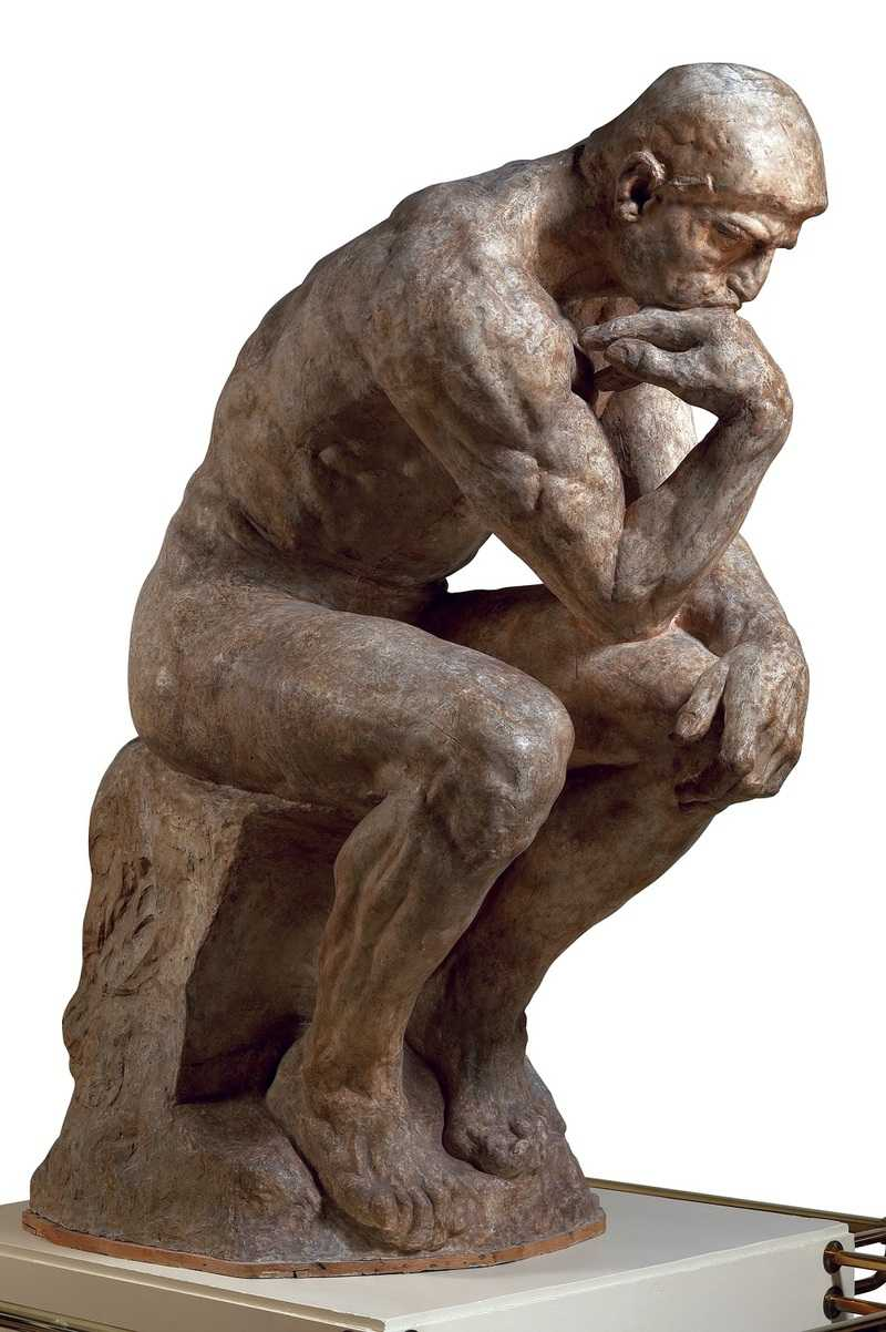 Auguste Rodin Le Penseur, grand modèle, SNBA 1904