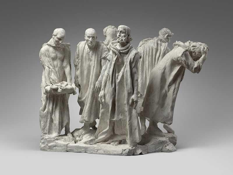 Auguste Rodin Les Bourgeois de Calais, épreuve moderne 1889-2005