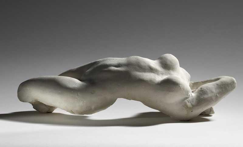 Auguste Rodin Torse d'Adèle 1884