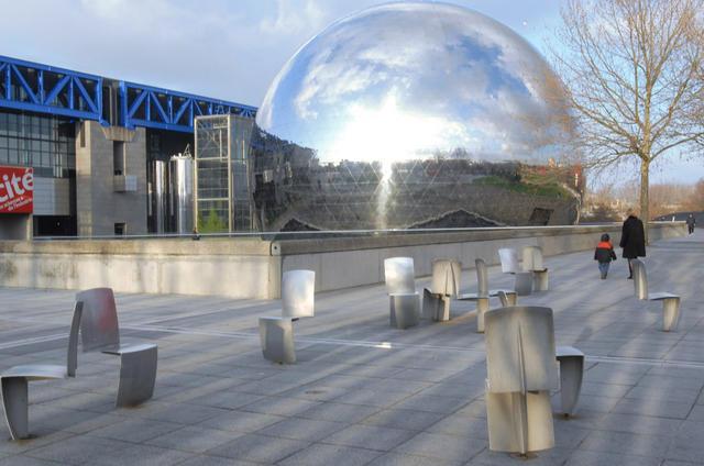 La Géode, Cité des sciences et de l'industrie
