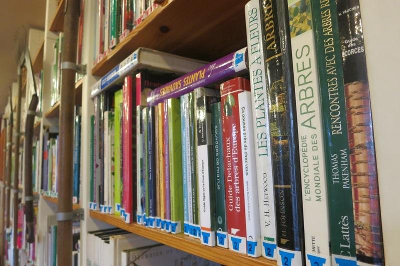 Bibliothèque de la Maison du Jardinage