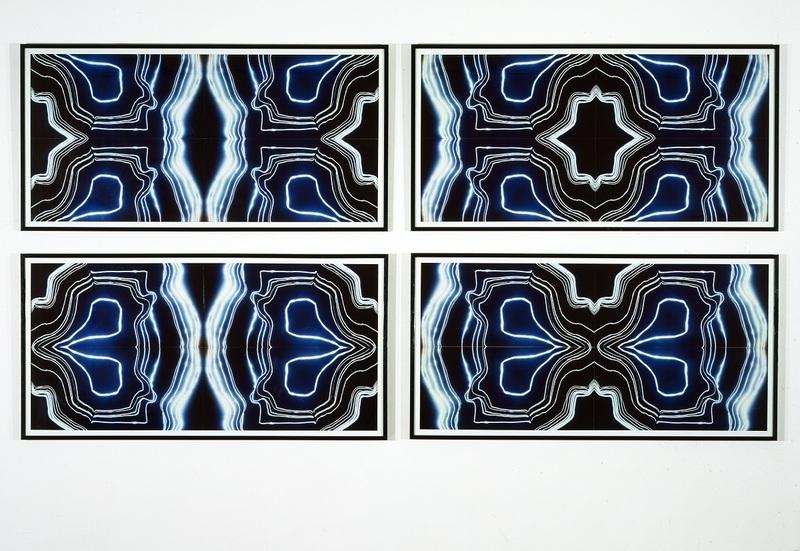 ubert Duprat, Les Agates, 1986-1989 Ensemble de quatre cibachromes, chaque élément 76 x 160 cm Collection Frac Bretagne