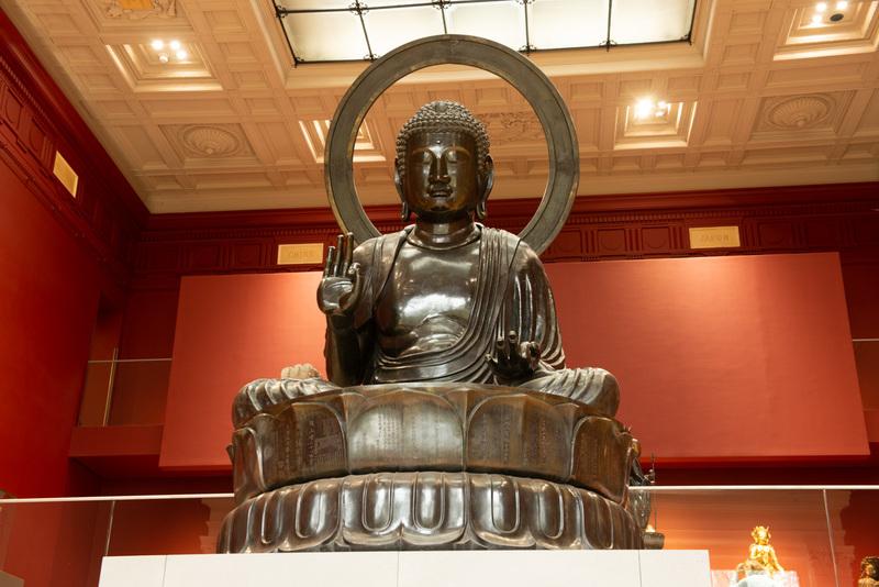 Bouddha Amitàbha Bronze époque Edo (1603-1868), XVIIIe siècle, Japon