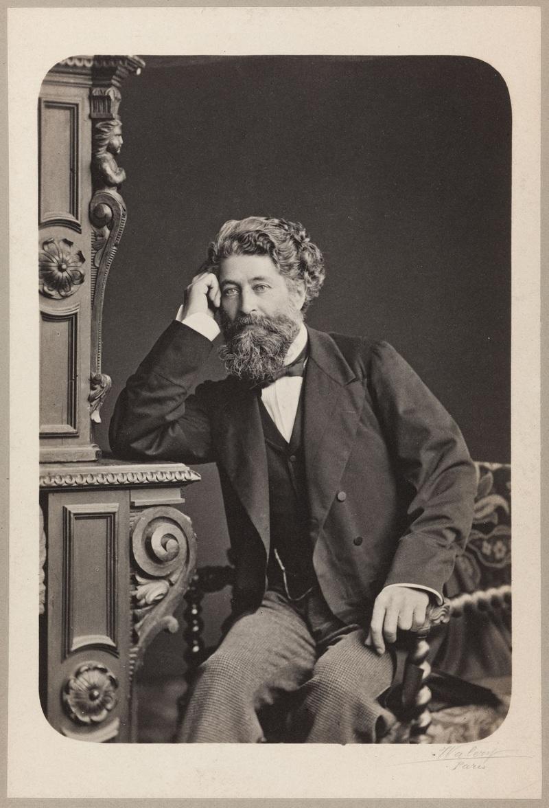 Portrait d'Henri Cernuschi, 1876