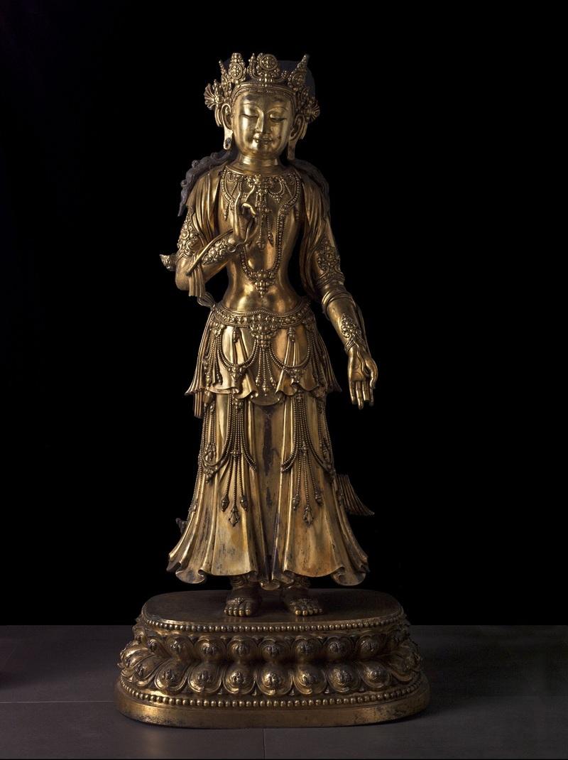 Bronze doré, M.C. 5173. Legs Pauline Tarn, Dite Renée Vivien, 1909.