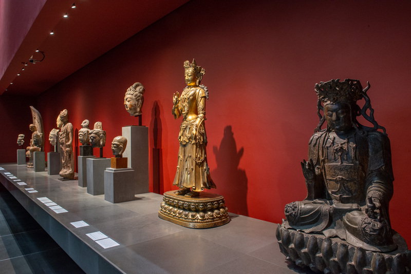 Boddhisattva.Entre 1403 et 1424 Bronze Objet religieux, Statue