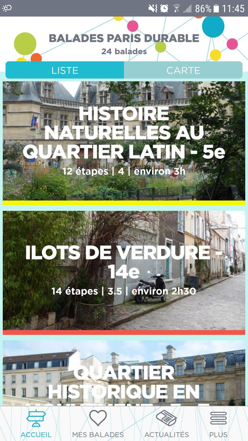 Paseos sostenibles por París