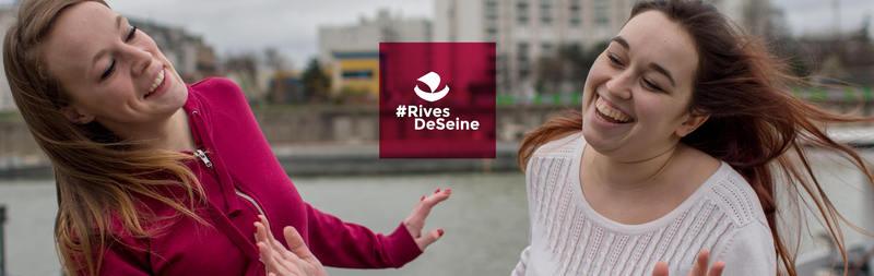 #Rives de Seine, un podcast de Julien Cerbori avec la Ville de Paris