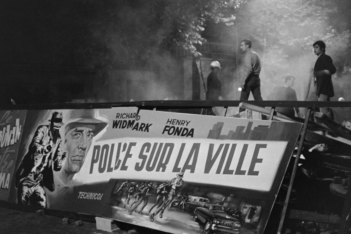 24 mai 1968, Négatif souple sur support acétate de cellulose, Bibliothèque historique de la Ville de Paris
