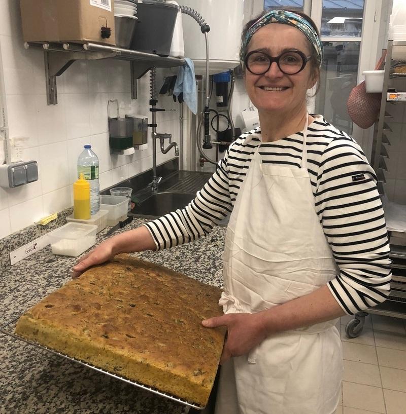 La Focaccia de Christel Regis boulangerie Persephone