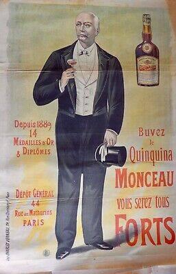 La publicité pour le quinquina