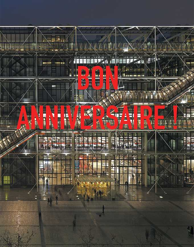 40 ans du Centre Pompidou