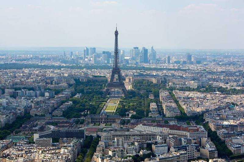 """View from the """"Tour Eiffel"""""""