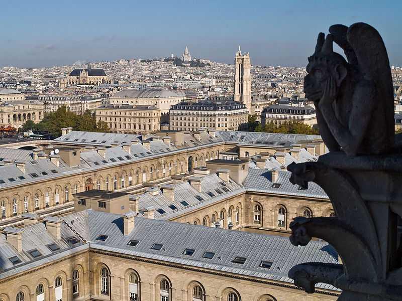 vue Paris depuis Notre-Dame