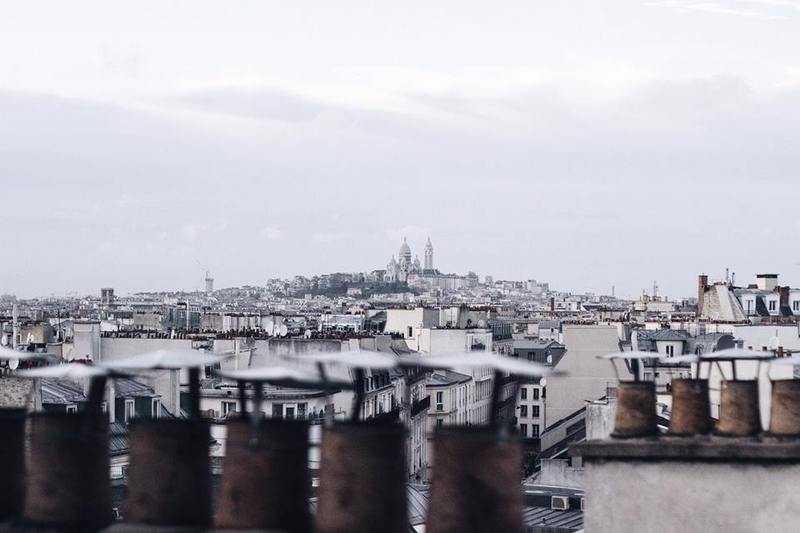 Cloudy Sacré-Coeur
