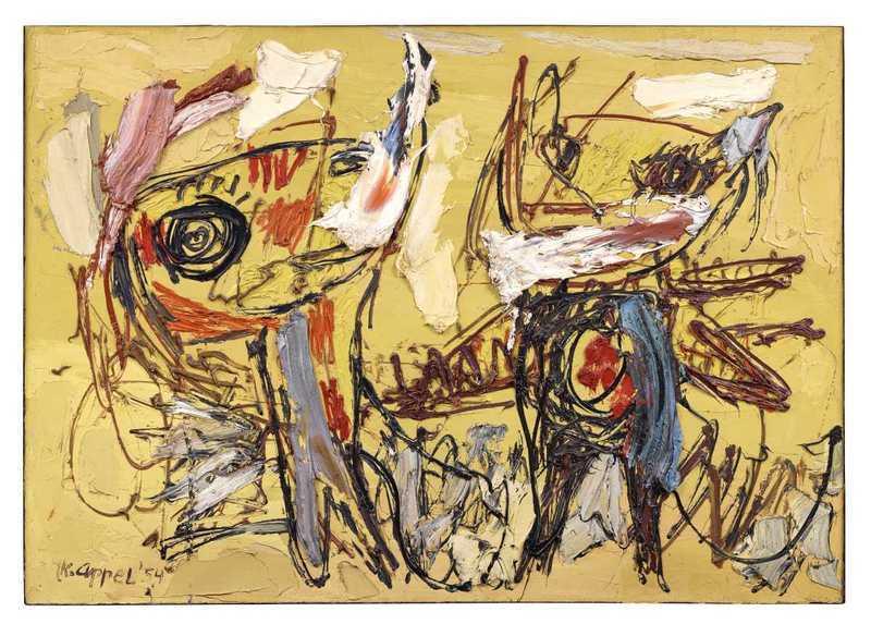 Les Danseurs du désert, 1954