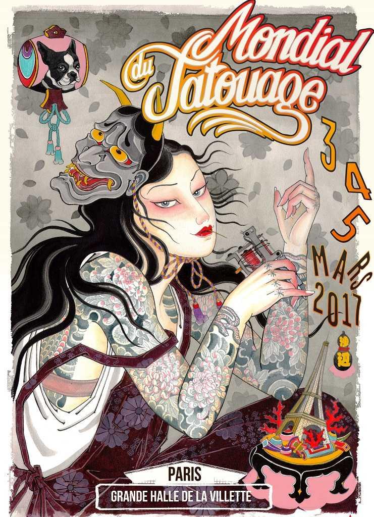 Mondial du tatouage édition 2017