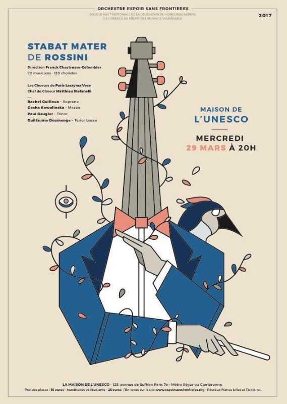 Concert à l'Unesco
