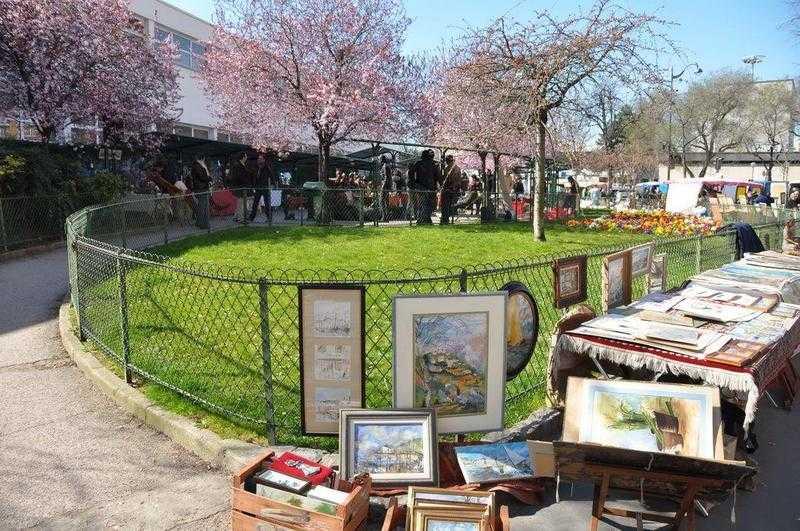 Les Puces de Vanves au printemps / In Springtime