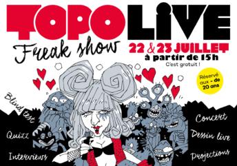 Topo Live placé sous le signes des MONSTRES!