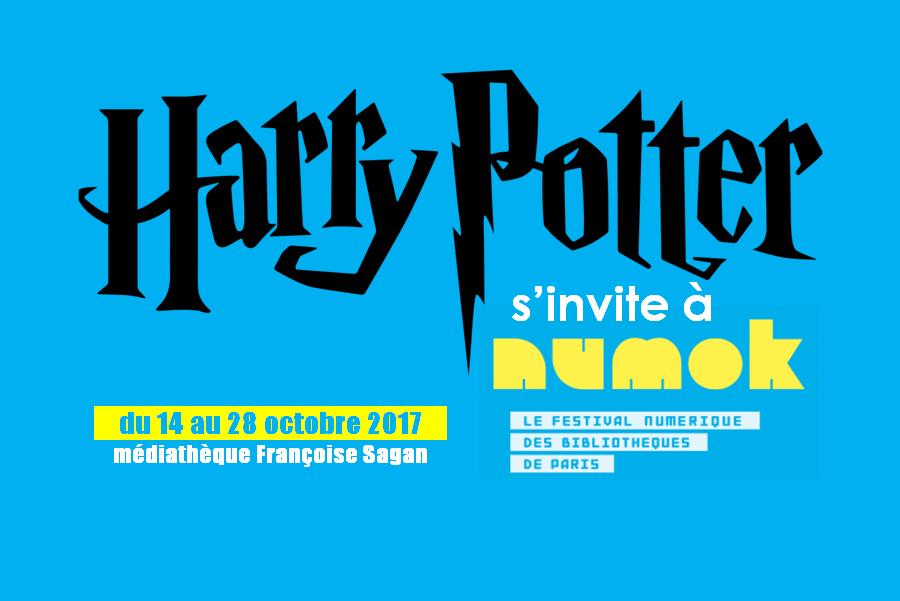 Harry Potter s'invite à NUMOK |