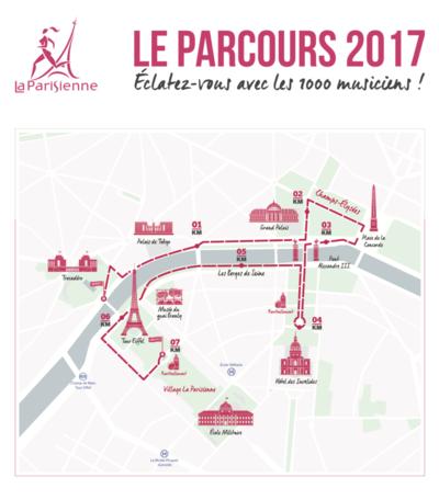 parcours officiel La Parisienne