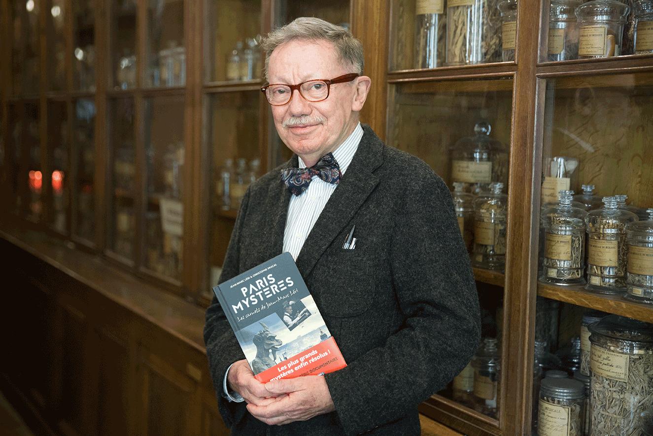 Jean-Marc Léri, auteur de Paris Mystère