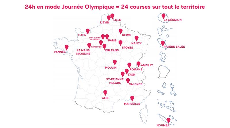 24h = 24 courses en France