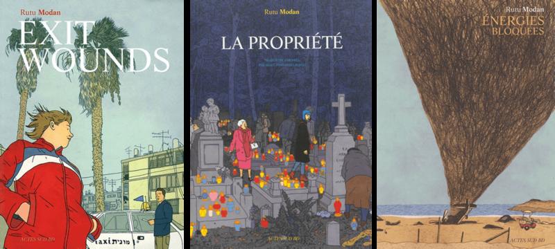 Couvertures des livres de Rutu Modan