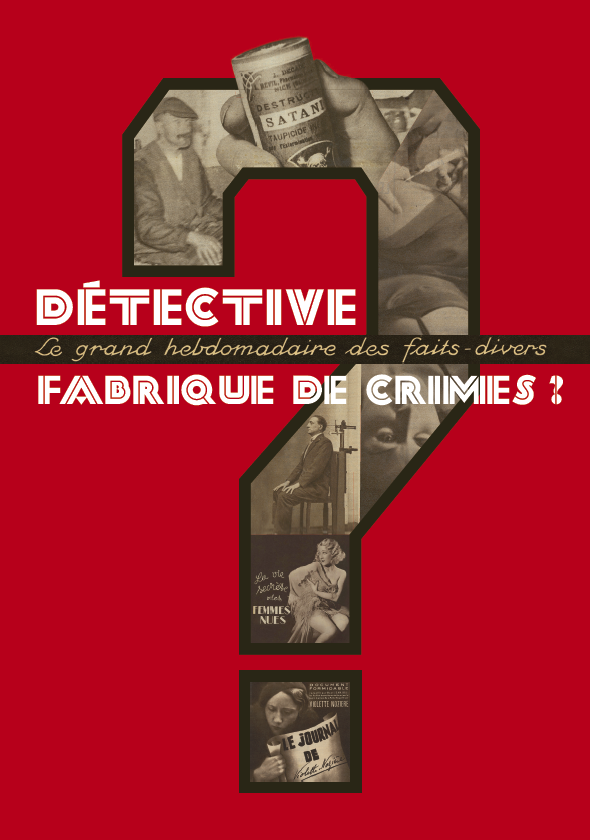 Exposition : Détective, fabrique de crimes ? |
