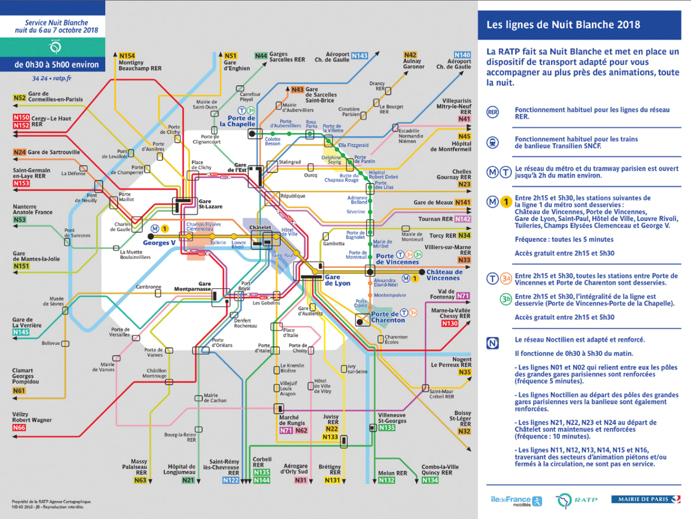 Paris Metro Zonen Karte.Nuit Blanche 2019 Paris Tipps Infos Zur Pariser