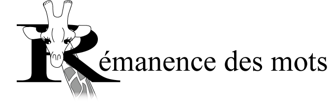 Rémanence des mots