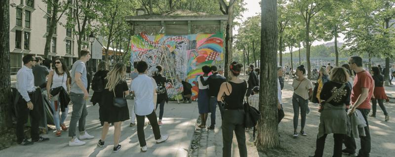 Live Painting de Jo Di Bona lors du FestiWall 2018