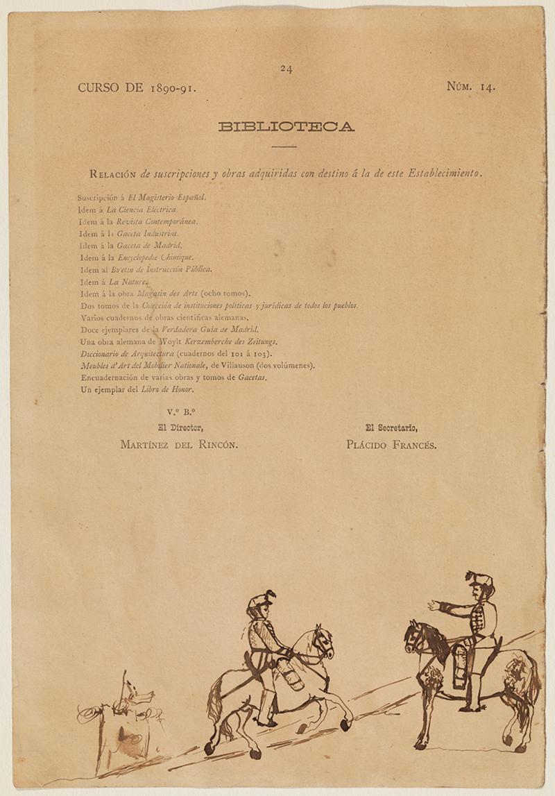 Deux soldats à cheval et une tourelle, Pablo Picasso