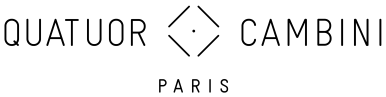 Logo du Quatuor Cambini