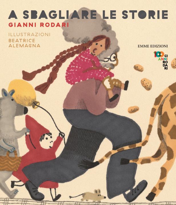 Gianni Rodari et Beatrice Alemagna, A sbagliare le storie