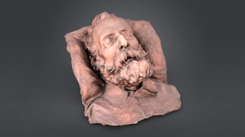 Masque mortuaire de Victor Hugo
